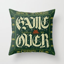 GAME OVER! Throw Pillow