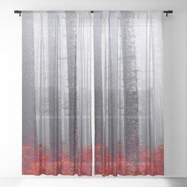 FEAR Sheer Curtain