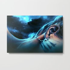 I want to talk to you Metal Print