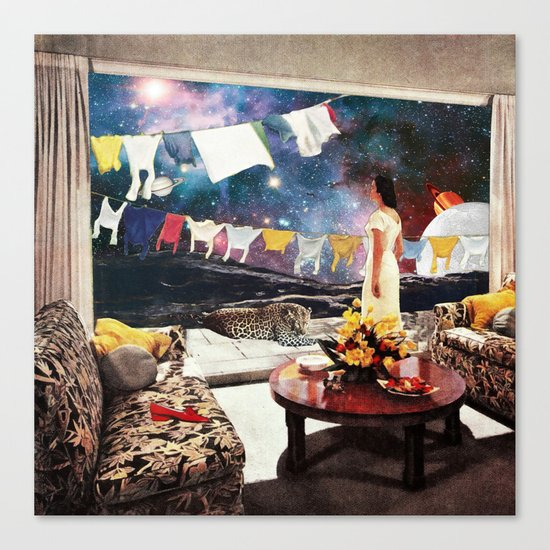 Room with an Almost View Canvas Print