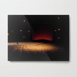 Music Box Theatre Metal Print