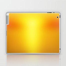 Hot Orange Laptop & iPad Skin
