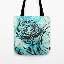 Bustin' Rose Tote Bag