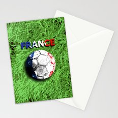 Old football (France) Stationery Cards