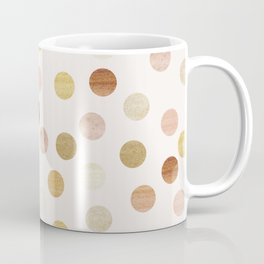 Soft Gold Dots Coffee Mug