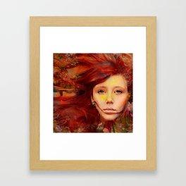 Irish fairy Framed Art Print