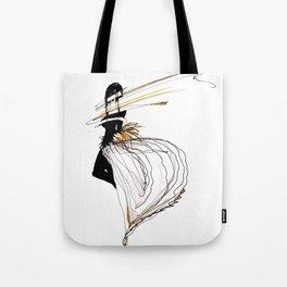NEON GIRL Tote Bag