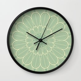 Flower Mandala VI Wall Clock