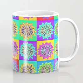 Happy Hippy Kaleidoscope Coffee Mug