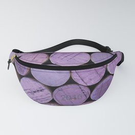 Red Wine Corks 3 Fanny Pack