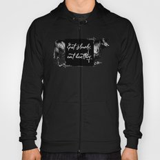 Eat slowly, eat healthy. A PSA for stressed creatives. Hoody