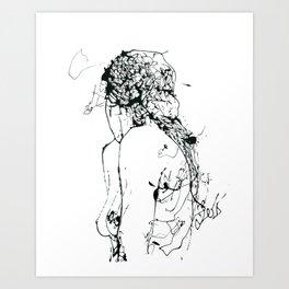 Ecce femina Art Print