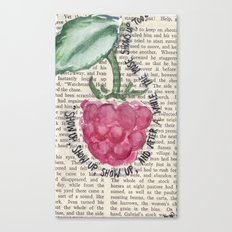 SHOW UP Canvas Print