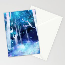 Forest of Fireflies Stationery Cards