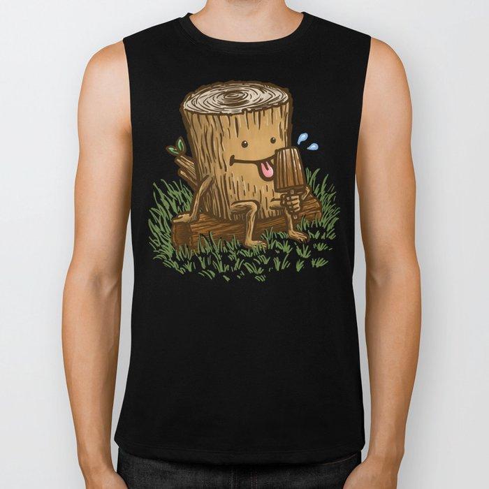 The Popsicle Log Biker Tank