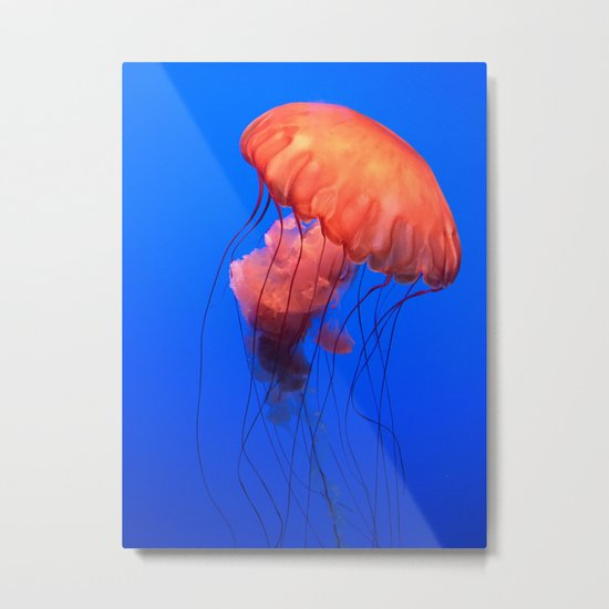 u jelly Metal Print