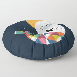 Seals Mermaid Floor Pillow