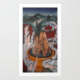 Aloe Wolf Art Print