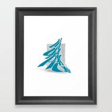 3D GRAFFITI - SKOPE Framed Art Print