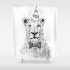 Get the party started Shower Curtain