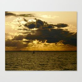 The Dramatic Zuider Zee Canvas Print
