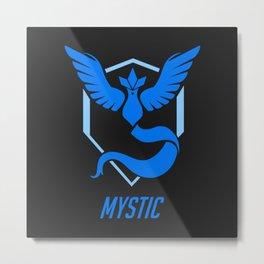 Team Mystic Blue Metal Print