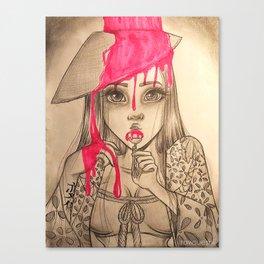 Oriental Lollipop Canvas Print