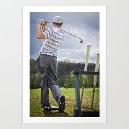 The Perfect Swing Art Print