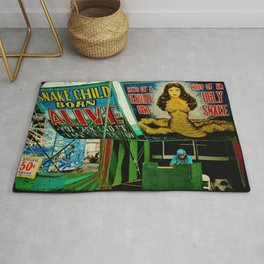 Freak Show Love Rug