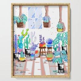 My Little Garden - illustration 2 Serving Tray