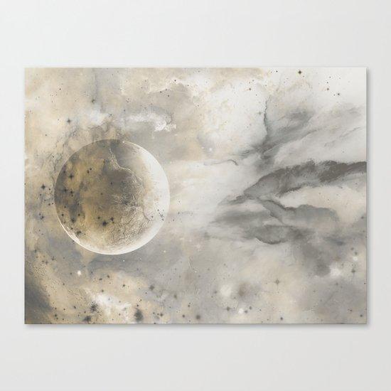 Ivory Opal Canvas Print