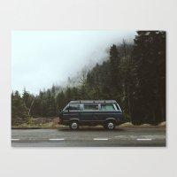 van Canvas Prints featuring Northwest Van by Kevin Russ