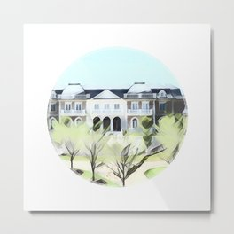 Mega mansion in Potomac Metal Print