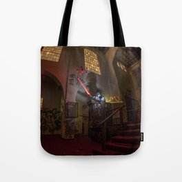 """Welcome To """"The Force Church""""  Tote Bag"""