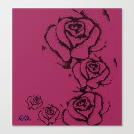 Rose' Canvas Print