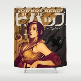 Faye Valentine Shower Curtain