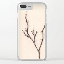 Imposición de tu Razón Clear iPhone Case