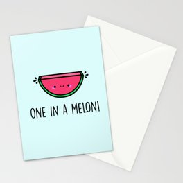 One in a Melon! Stationery Cards