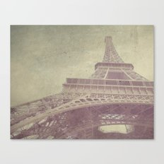 Paris love Canvas Print