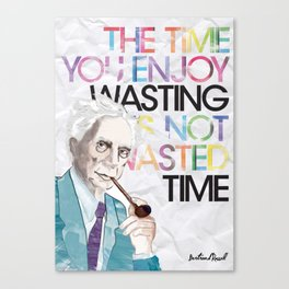 Wasted Time Canvas Print