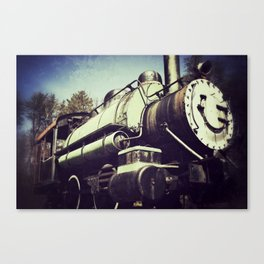 Little Engine Canvas Print