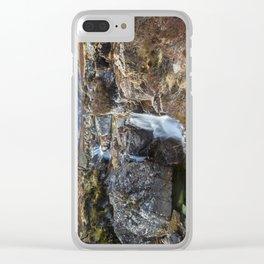 Glencoe Falls Clear iPhone Case