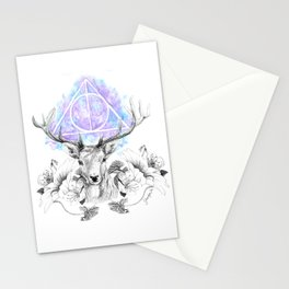Deer Horcrux Stationery Cards