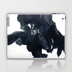 Black paper flower Laptop & iPad Skin