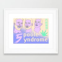 """inside gaming Framed Art Prints featuring Inside Gaming """"Spoole Syndrome""""  by cerebrex"""
