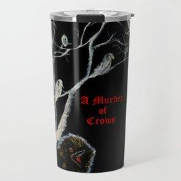 A Murder of Crows Travel Mug