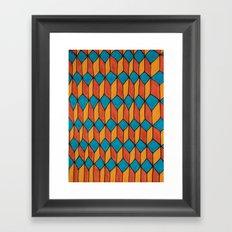 Pattern color Framed Art Print
