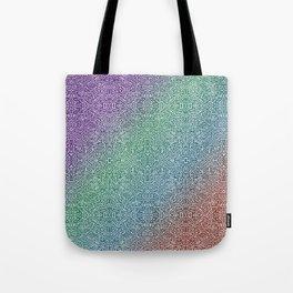pointy gradient pattern Tote Bag