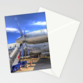 Malev Hungarian Airlines Ilyushin IL-18 Stationery Cards