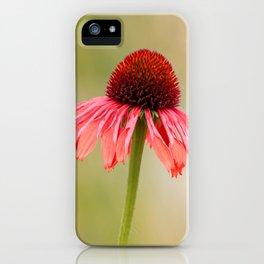 Dreamy Cone Flower iPhone Case